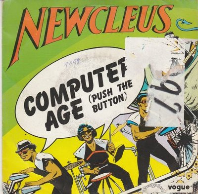 Newcleus - Computer Age + (Instrumental) (Vinylsingle)
