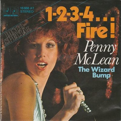 Penny McLean - 1-2-3-4 Fire + The wizard bump (Vinylsingle)