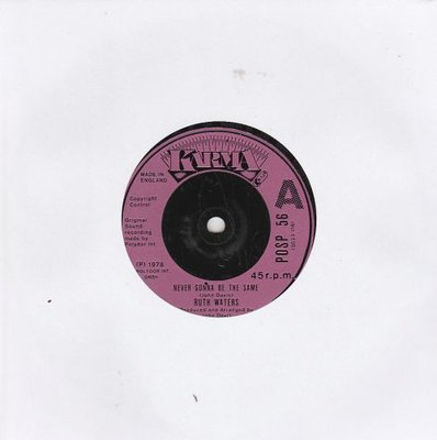 Ruth Waters - Never Gonna Be The Same + Start A New Affair (Vinylsingle)