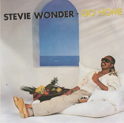 Stevie Wonder - Go Home + (instr.) (Vinylsingle)