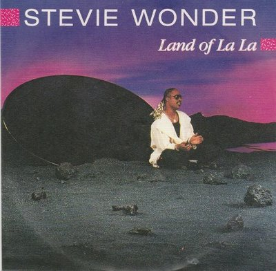 Stevie Wonder - Land Of La La + (Instrumental) (Vinylsingle)