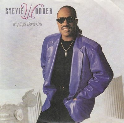 Stevie Wonder - My eyes don't cry + (instr.) (Vinylsingle)