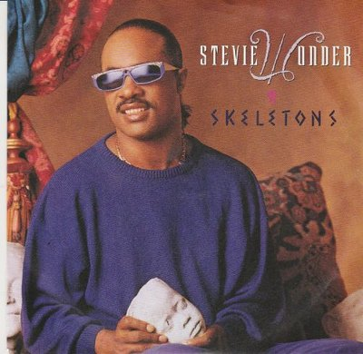 Stevie Wonder - Skeletons + (instr.) (Vinylsingle)