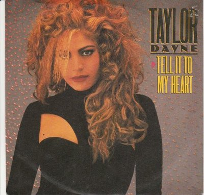 Taylor Dayne - Tell it to my heart + (instr.) (Vinylsingle)