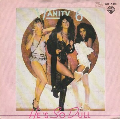 Vanity 6 - He's So Dull + Make Up (Vinylsingle)
