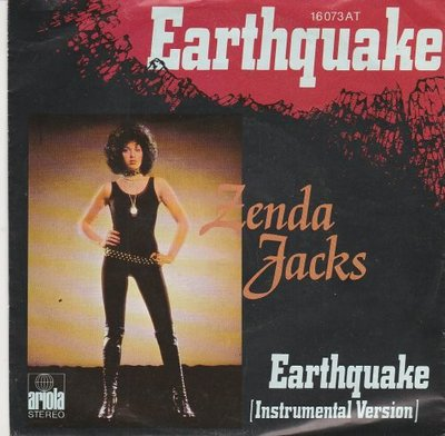 Zenda Jacks - Earthquake + (Instrumental Version) (Vinylsingle)