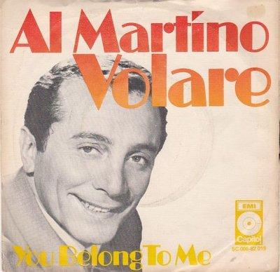 Al Martino - Volare + You belong to me (Vinylsingle)
