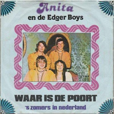 Anita en de Edger Boys - Waar is de poort + 'S zomers in Nederland (Vinylsingle)