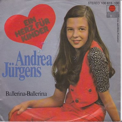 Andrea Jurgens - Ein hertz fur kinder + Ballerina Ballerina (Vinylsingle)