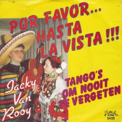 Jacky van Rooy - Por favor hasta la vista + Tango's  (Vinylsingle)