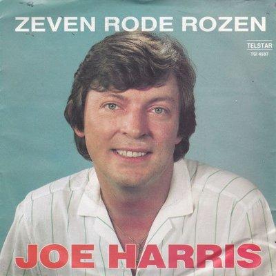 Joe Harris - Zeven rode rozen + Ik heb geen geluk in het spel (Vinylsingle)