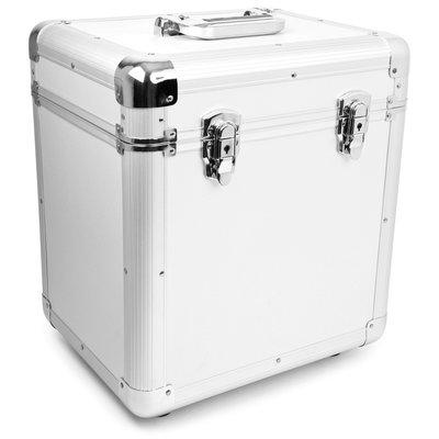 LP Flightcase voor 100 platen (zilver) - per stuk