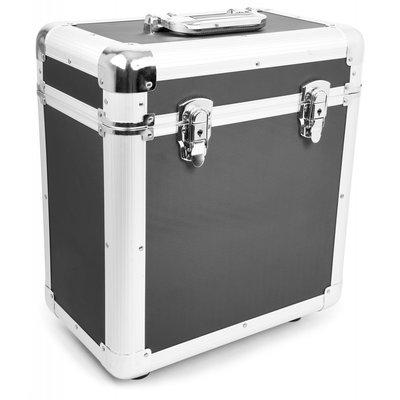 LP Flightcase voor 80 platen (zwart) - per stuk