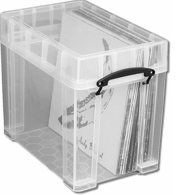 Really Usefull Box 19 liter (voor 50 vinyl Lp's) - per stuk