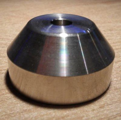 Single Puck (rond, metaal) - per stuk