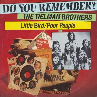 Tielman Brothers - Little Bird + Poor people (Vinylsingle)