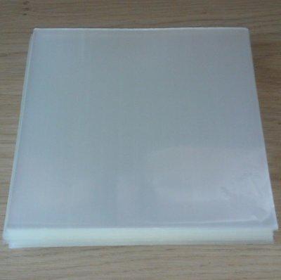 """Zacht Plastic Beschermhoezen voor vinylsingles (7"""", helder) - per 100 stuks"""
