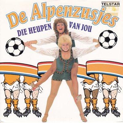 Alpenzusjes - Die heupen van jou + Het lied van de wind (Vinylsingle)