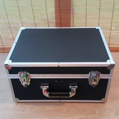 Vinylsingle Koffer Zwart (2 vaks) Nieuw Model - per stuk