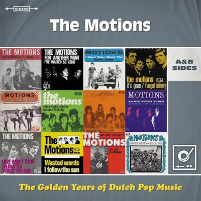 MOTIONS - GOLDEN YEARS OF DUTCH POP MUSIC (Vinyl LP)
