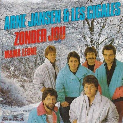 Arne Jansen - Zonder jou + Mama Leona (Vinylsingle)