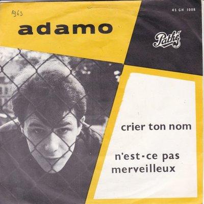 Adamo - Crier ton nom + N'est-ce pas merveilleux (Vinylsingle)