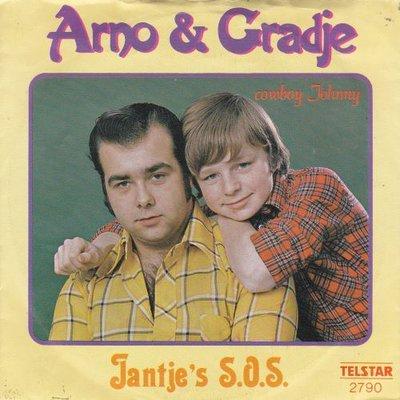 Arno & Gradje - Jantjes sos + Cowby Johnny (Vinylsingle)