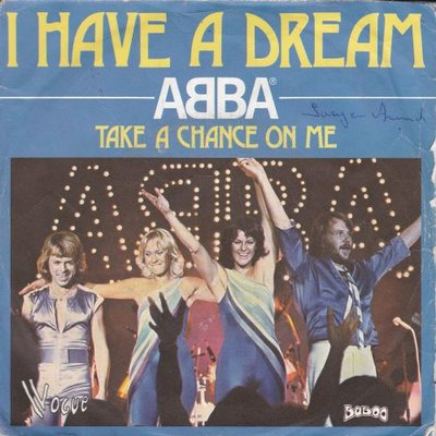 Abba - I have a dream + Take a chance on me (live) (Vinylsingle)