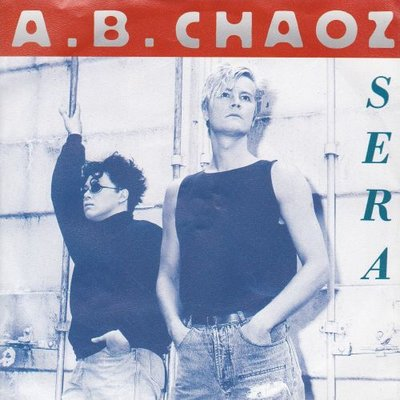 A.B. Chaoz - Sera + (Italian version) (Vinylsingle)