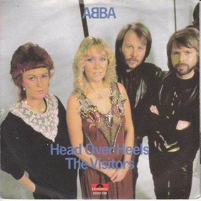 Abba - Head over heels + The visitors (Vinylsingle)