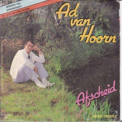 Ad van Hoorn - Afscheid + Saint Tropez (Vinylsingle)