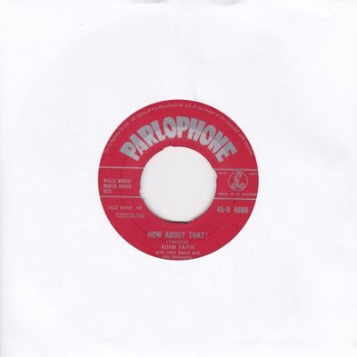Adam Faith - How about that + With open arms (Vinylsingle)
