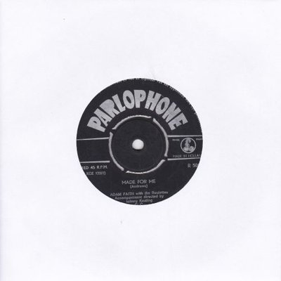 Adam Faith - My last wish + Don't you know it (Vinylsingle)