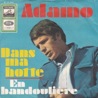 Adamo - Dans ma hotte + En bandoulliere (Vinylsingle)