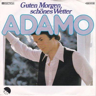 Adamo - Guten morgen sschones wetter + Niemanden (Vinylsingle)