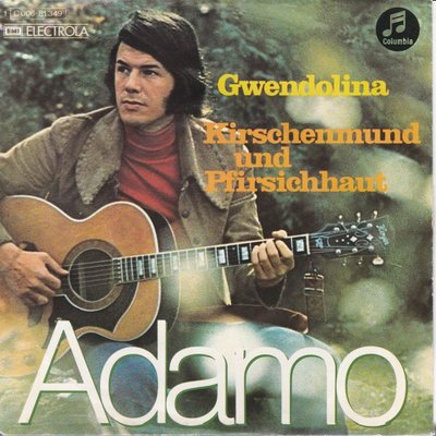 Adamo - Gwendolina + Kirschenmund und pfirsichhaut (Vinylsingle)