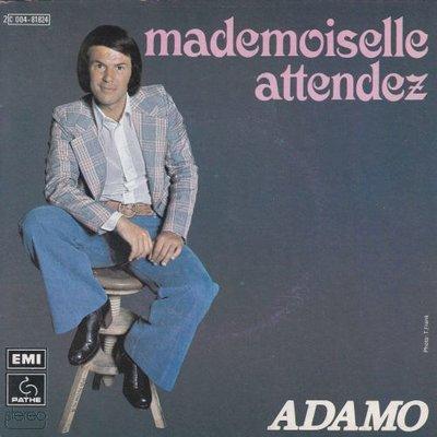 Adamo - Mademoiselle attendez + Partir (Vinylsingle)