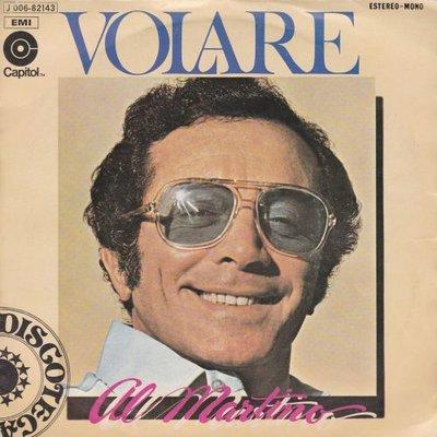 Al Martino - Volare + Mary go lightly (Vinylsingle)