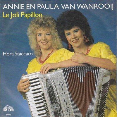 Annie & Paula van Wanrooij - Le joli papillon + Hora staccato (Vinylsingle)