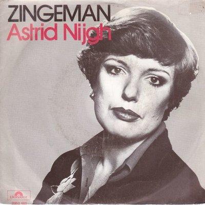 Astrid Nijgh - Zingeman + Te jong (Vinylsingle)