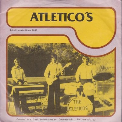 Atletico's - Blue suede shoes + Atletico's (Vinylsingle)