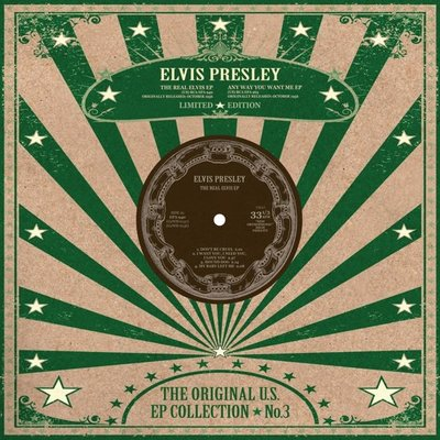 "ELVIS PRESLEY - THE ORIGINAL U.S. EP COLLECTION NO. 3 (10"" VINYL) (Vinyl LP)"