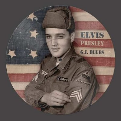 ELVIS PRESLEY - G.I. BLUES -PICTURE DISC- (Vinyl LP)