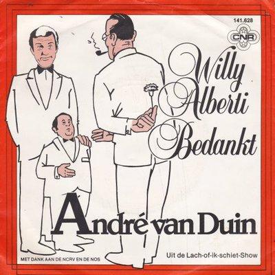 Andre van Duin - Willy Alberti bedankt + Wie van de drie (Vinylsingle)