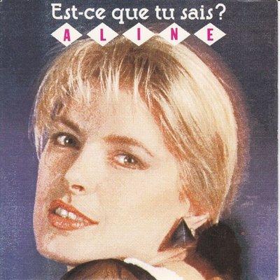 Aline - Est-ce que tu sais + Toi et moi (Vinylsingle)