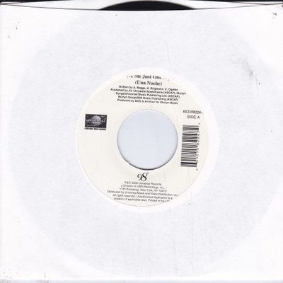 98 Degrees - Give me just one ight + I do (Vinylsingle)