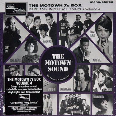 Various - Motown 7's Box Rare and unreleased volume 4 (Vinylsingle)