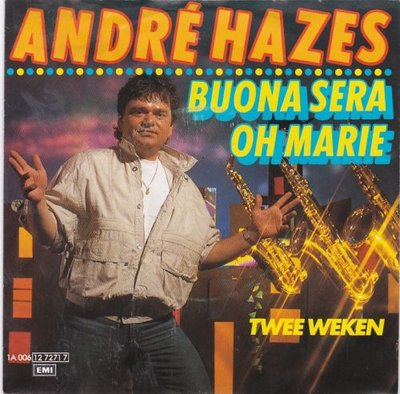 Andre Hazes - Buona sera + Twee weken (Vinylsingle)