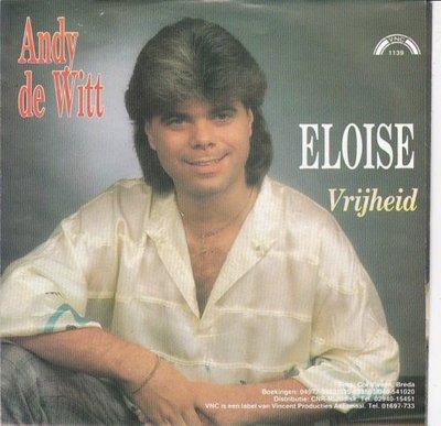 Andy de Witt - Eloise + Vrijheid (Vinylsingle)