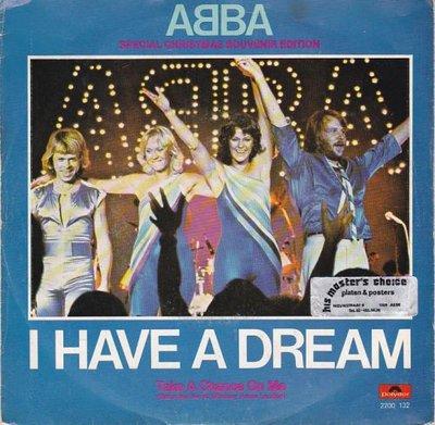 Abba - I have a dream + Take a chance on me (live) (Vinylsingle)